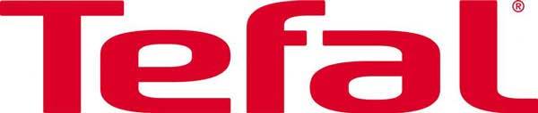 Electromundo - Reparação de electrodomésticos - Esta imagem representa o logotipo da TEFAL. Trata-se de um símbolo simples com as letras da marca arredondadas. A cor de fundo é branco e a cor das letras e do símbolo a cor vermelho.
